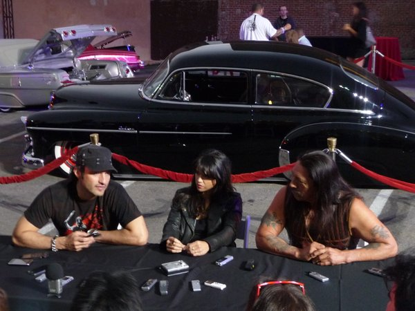 Robert Rodriguez, Michelle Rodriguez, and Danny Trejo.