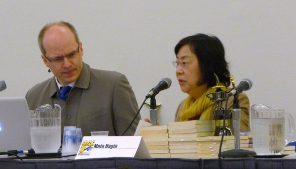 Moto Hagio was one of many guests to give the Comic-Con an international flavor.