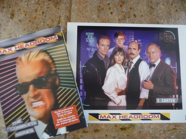 "Shout Factory released my beloved ""Max Headroom"" on DVD and they hosted a panel in honor of Roger Corman."