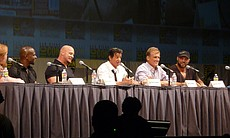 "Sylvester Stallone oversees ""The Expendables"" panel."