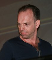 "Hugo Weaving appeared at the Marvel panel since he is appearing as the villain in ""Captain America"" (Photo by: Tony Weidinger)"