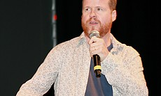 "Joss Whedon appeared at the Marvel panel since he will be directing ""The Avengers."" (Photo by: Tony Weidinger)"