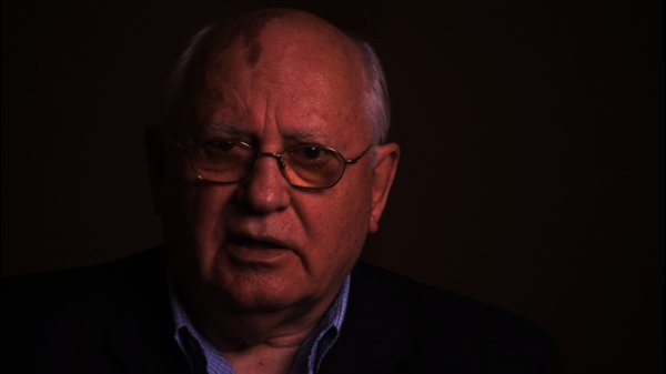 "Mikhail Gorbachev is one of a number former heads of state interviewed in ""Countdown to Zero."""