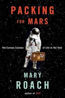 Mary Roach will be signing copies of her new book Packing for Mars this Tuesd...