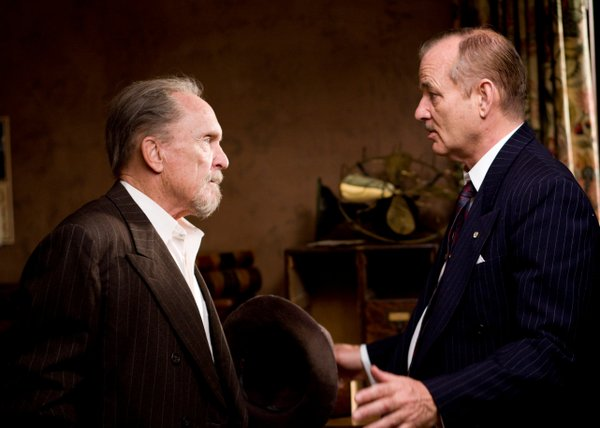 "Robert Duvall and Bill Murray do some negotiating in ""Get Low."""