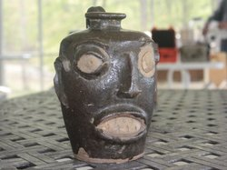 A construction worker found this jug while excavating to build a school in Ge...