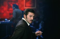 "Actor Vincent Cassel in the French gangster film ""Mesrine: Killer Instinct."""
