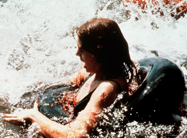 "The 1979 ""Piranha"" had carnage on a smaller scale"