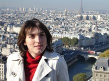 Art historian Sandrine Voillet in Paris