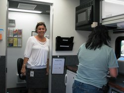 Heidi Aiem oversees HIV testing and counseling for San Diego County's Health ...