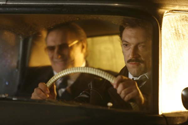 "Gerard Depardieu and Vincent Cassel in ""Mesrine"""