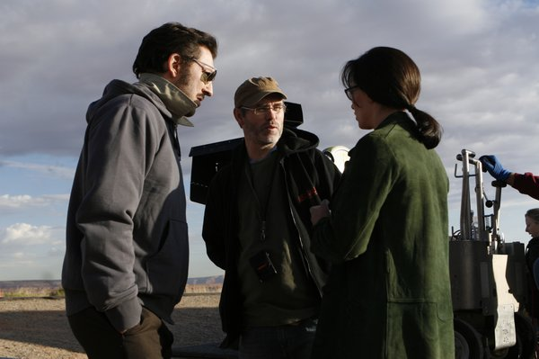 Vincent Cassel and Cecile De France take direction from Jean-François Richet.