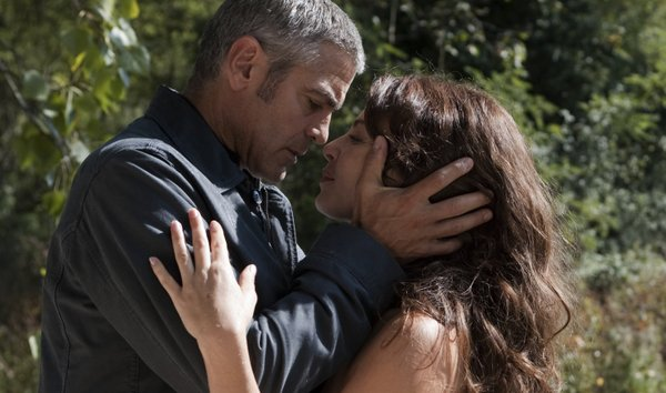 "George Clooney and Violante Placido in ""The American"""