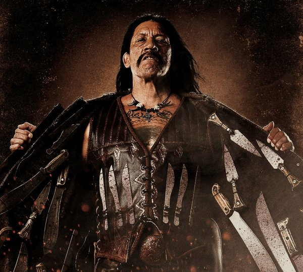 "Danny Trejo becomes an action hero at 66 in ""Machete"""