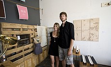 Stacy and Sean Kelley, founders of Set & Drift ...