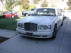 The Bentley siezed at the San Bernardino home of John Zepeda, 59, and David Z...