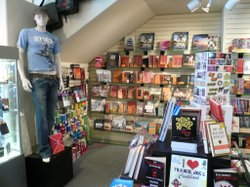 The Obelisk bookstore in Hillcrest has added gifts and graphic novels while reducing the stock of general book titles. The gay and lesbian bookstore has been in operation for 17 years.