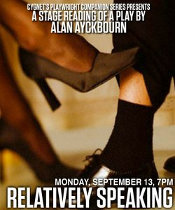 Get ready for relational trysts and tricks in Alan Ayckbourn's famed comedy, ...