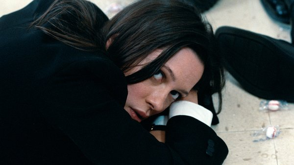 "Rebecca Hall plays a bank employee held hostage by robbers in ""The Town."""
