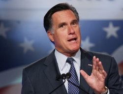 Former Massachusetts Gov. Mitt Romney speaks at the Values Voter Summit on Se...