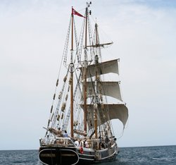 """In 1876, after eight years of incarceration at Fremantle Prison in Western Australia, six Irish political prisoners escaped to America on board the American whaler """"Catalpa."""""""
