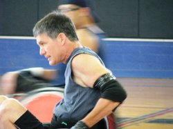 Dan McCauley has been playing wheelchair rugby for more than 20 years. He lov...