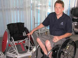 Andy Cohn started playing wheelchair rugby when he was in high school. Today,...