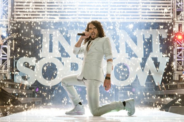 "Russell Brand reprises his role as rocker Aldous Snow in ""Get Him to the Greek."""
