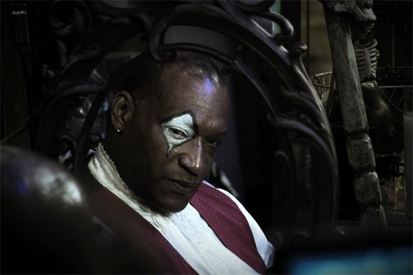 "The great Tony Todd in the not-so-great ""Hatchet II."""