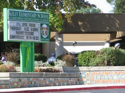 Kelly Elementary School welcomes back students and faculty with activities and counseling to help them cope emotionally and mentally following a campus shooting three days earlier, on October 11, 2010 in Carlsbad, Calif.