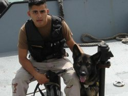 Joseph Rocha was honorably discharged from the Navy under 'Don't Ask, Don't Tell.'