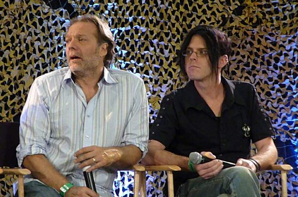 """Make up and effects wiz Greg Nicotero hosted a panel on """"The Walking Dead."""""""