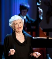 "Elaine Stritch performs during ""A Broadway Celebration: In Performance at the White House"" in the East Room of the White House, July 19, 2010."