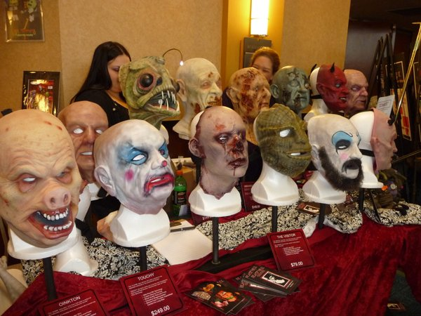 One of the vendors at Weekend of Horrors in LA.
