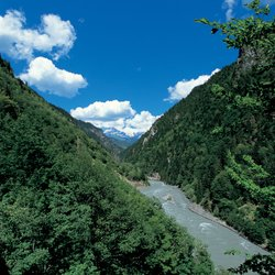 Michael Wood's treacherous journey in pursuit of the Jason myth took him to the Svaneti Valley (pictured), running up to the Caucausus Mountains on the border with Ossetia.