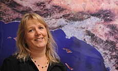 UC Irvine earthquake researcher Lisa Grant Ludwig