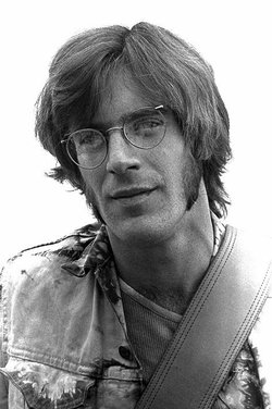 A young John Sebastian, the leader of the 60s band The Lovin' Spoonful.