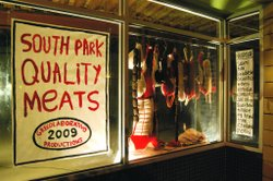 Enzo's meat project resulted in a temporary installation in South Park. This ...