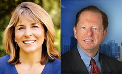 6th District Candidates, Lorie Zapf  and Howard Wayne.