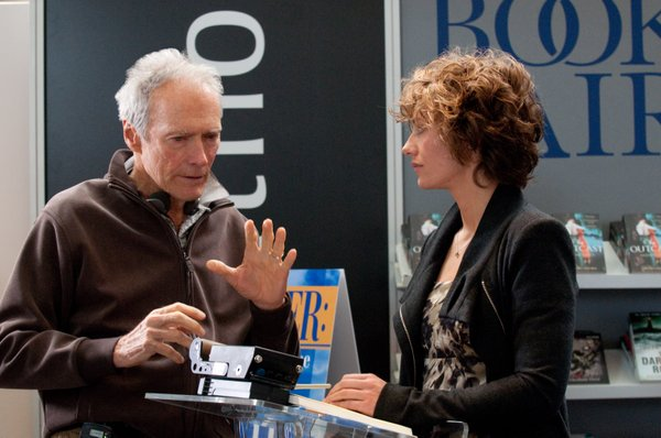 "Clint Eastwood directs Cecile De France in ""Hereafter."""