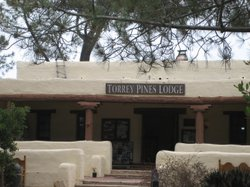 The 86-year-old Torrey Pines Lodge at Torrey Pines State Beach Park in San Diego needs repairs.