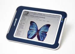 A Qualcomm e-reader that uses one of the company's Mirasol displays.