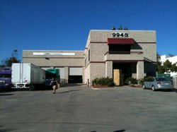Warehouse in Otay Mesa, California, where a drug-smuggling tunnel and 20 tons...