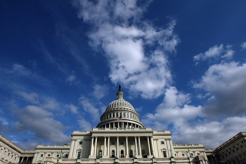 The U.S. Capitol is seen November 3, 2010 in Washington, DC.