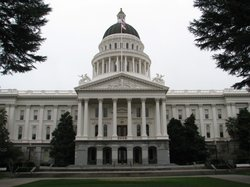 State Capitol in  Sacramento, California.