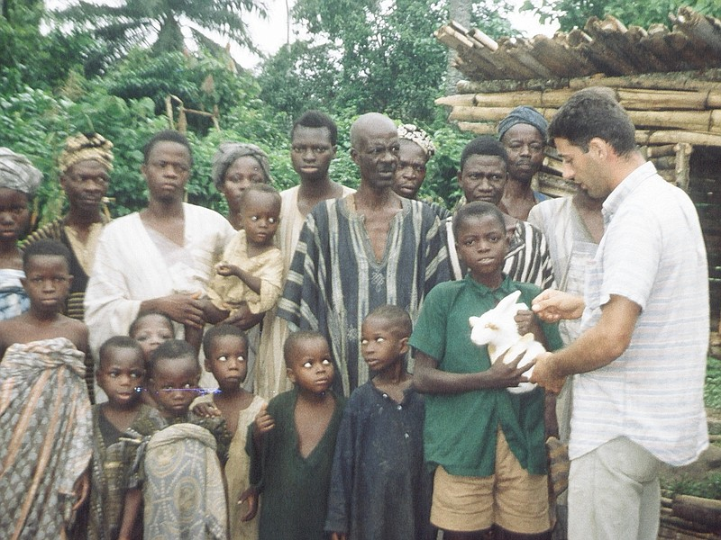 Oceanside resident Allan Paloutzian was a Peace Corps volunteer in Nigeria fr...