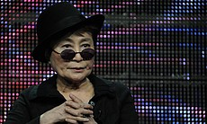 "Yoko Ono during PBS' ""American Masters: LENNONYC"" (W.T.) session at the TCA S..."