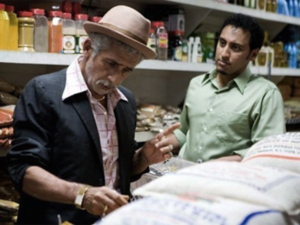 "Naseeruddin Shah is the free-spirited Akbar and Aasif Mandvi is the uptight Samir in ""Today's Special."""