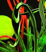 """Mille Fiori"" (detail), Dale Chihuly"