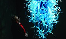 "Dale Chihuly with ""Chiostro di Sant' Apollonia ..."